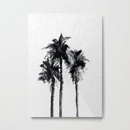 Sophisticated Palms Metal Print