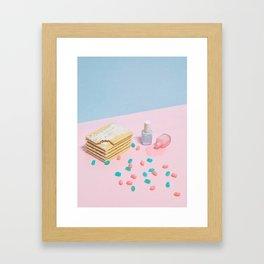 Spilled the Beans Framed Art Print