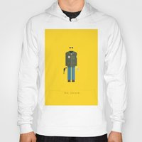 taxi driver Hoodies featuring Taxi Driver | Famous Costumes by Fred Birchal
