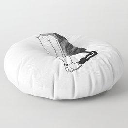 Reality. Floor Pillow