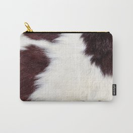 Cowhide Fur Carry-All Pouch