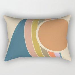 Pastel Sunrise Rectangular Pillow