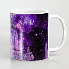 Enchanted Castle Purple Pink Coffee Mug