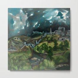 El Greco's View of Toledo Metal Print