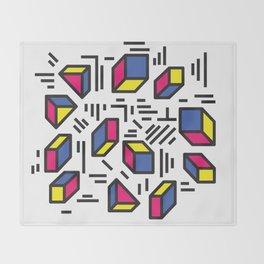 abstrableurghhhh Throw Blanket
