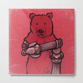 Desolance - Bear Metal Print