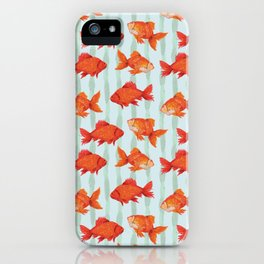 goldenfish iPhone Case