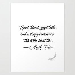 Quote 1 Art Print