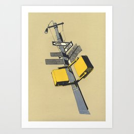 New york 09 Art Print
