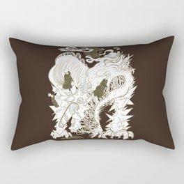 Walnut Barks Rectangular Pillow