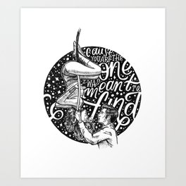 Rewrite The Stars Art Print