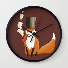 Fancy Fox Wall Clock