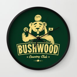 Bushwood (Light) Wall Clock