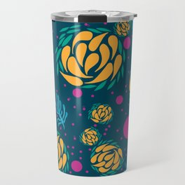 Swirling Artichokes Travel Mug