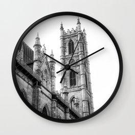 Notre-Dame Basilica Catholic Church Photography | Montreal | Quebec | Canada Wall Clock