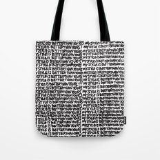 My style is better than yours punition Tote Bag