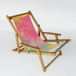 colored explosion Sling Chair