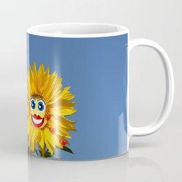 Sonnenblumenfrau und Sonnenblumenmann Coffee Mug
