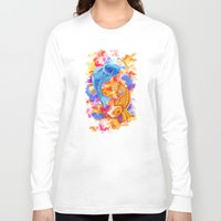 koi Long Sleeve T-shirts featuring Koi  by Nelson J