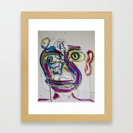 Portrait 8 Framed Art Print