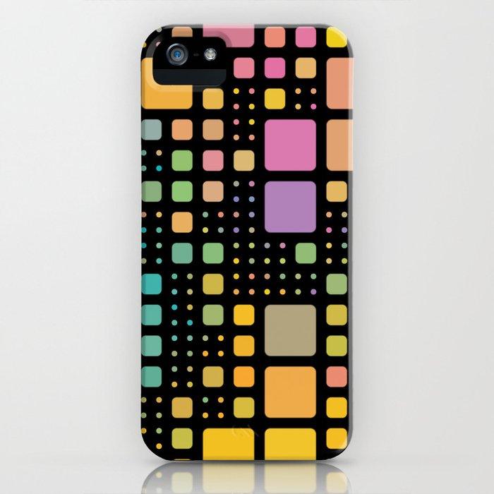 Pop Squares iPhone Case