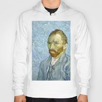 van gogh Hoodies featuring Vincent van Gogh by Premium