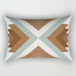 Geometric Art with Bands 01 Rectangular Pillow