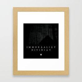 Immortality or Divinity Framed Art Print
