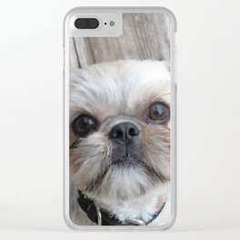Cute Shihtzu Clear iPhone Case