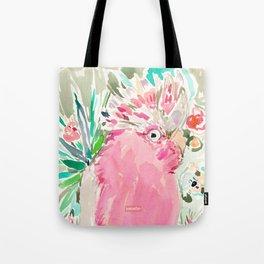 ROSITA the Galah Cockatoo Tote Bag