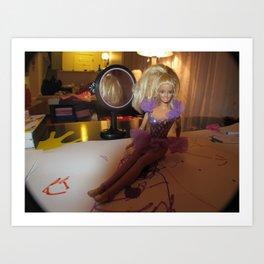 Barbie Fashion Shoot Art Print
