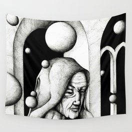 Monk Wall Tapestry
