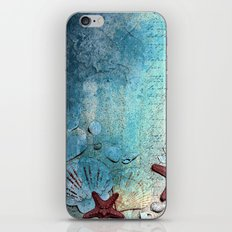 Written in the sand iPhone & iPod Skin