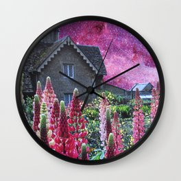 Snapdragons Wall Clock