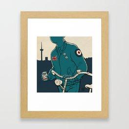 On yer bike : Fahrradmod Cover Framed Art Print
