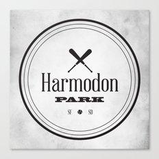 Harmodon Park Canvas Print