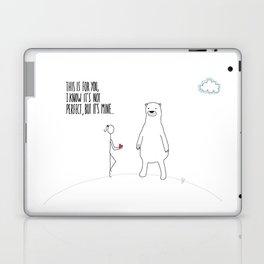 Not Perfect Laptop & iPad Skin