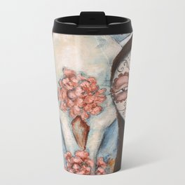 Desert Rosa Metal Travel Mug