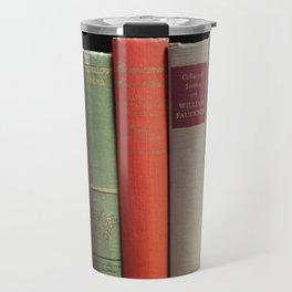 Old Books Travel Mug