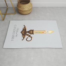 Behind the Candelabra - Alternative Movie Poster Rug