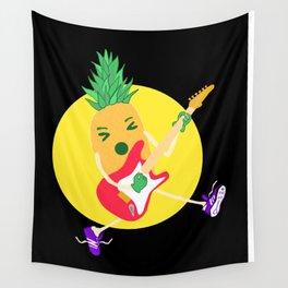 Punk Ananas Wall Tapestry