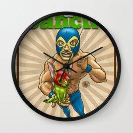 Mito & Sancho, sensacionales de la lucha libre Wall Clock