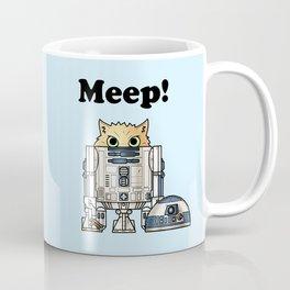 Meep R2 Cat Coffee Mug