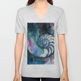Nature Music No.1D by Kathy Morton Stanion Unisex V-Neck