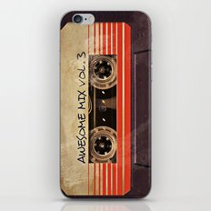 Awesome mix vol. 3 iPhone & iPod Skin
