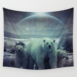 The Queen of the North Pole v.3 Wall Tapestry