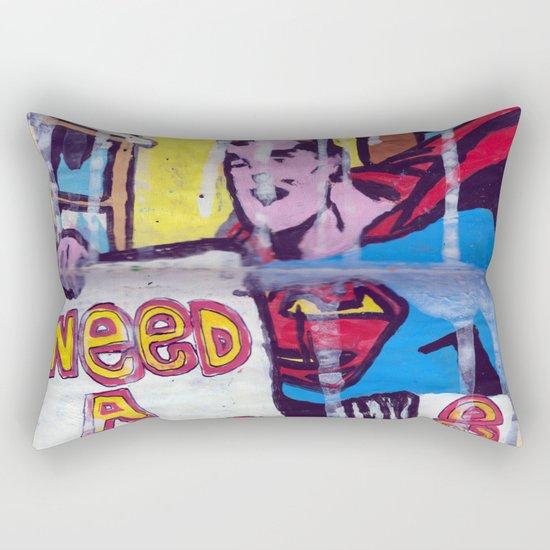 I Need a Supergirl Rectangular Pillow