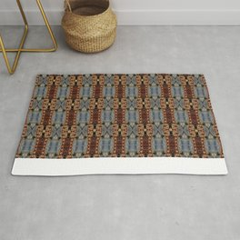 Rosty Chains Rug