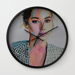 Tender Jennifer Lawrence Wall Clock