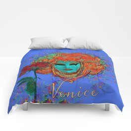 Blue Venice Comforters
